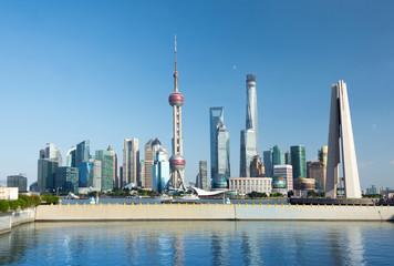 Slyline von Shanghai