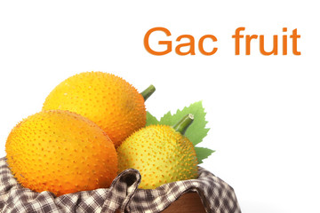 Gac fruit, Baby Jackfruit and juice