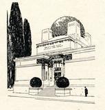 Secession Building, Vienna poster