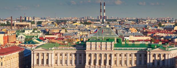Panorama of  St.Petersburg