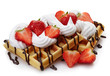 Belgian waffles - 74547805