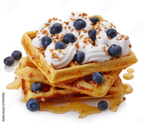 Belgian waffles - 74547802
