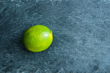 Closeup on lime on stone substrate
