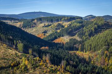 herbstlicher Brocken, Harz