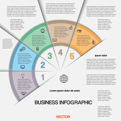 Business infographic for success project and other Your variant