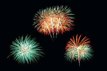 3 firework pattern