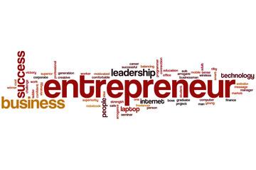 Entrepreneur word cloud