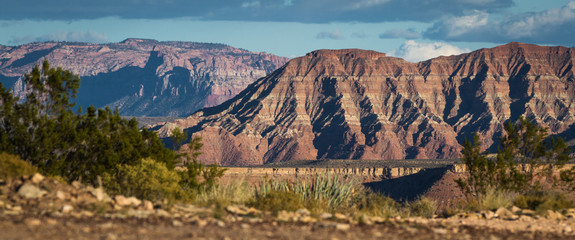 mountains in southwestern Utah