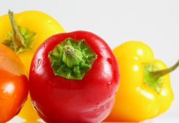 Paprika in Nahaufnahme