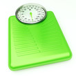 Weight scale green