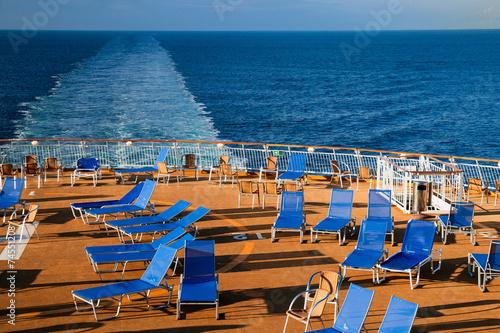 canvas print picture Entspannung auf dem Meer