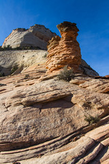 rock formations in Zion