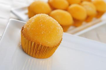 yemas de santa teresa, typical pastries of Spain