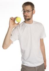 Holding a Tennis Ball