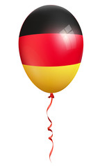 germany flag balloon