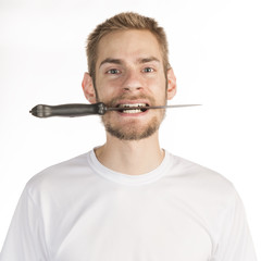Knife in Mouth