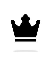 Crown King icon on white background.