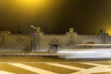 Valladolid noche niebla