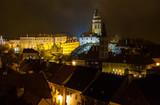 Cesky Krumlov Castle night view - 74556095
