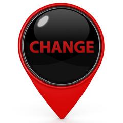 Change pointer icon on white background