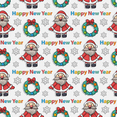 Happy New Year pattern