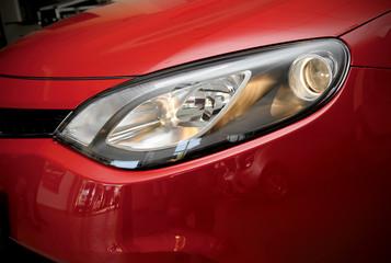 Red car light