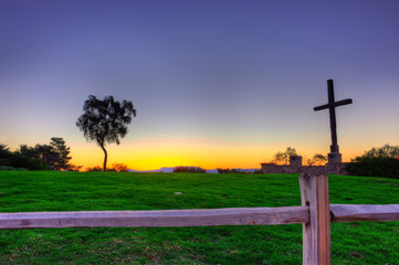 the Spiritual destination is just across the grass