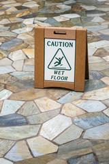 Caution Wet Floot