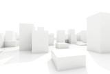 abstract blocks city - 74558697