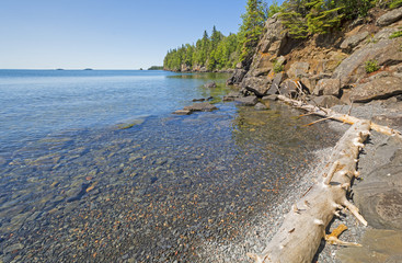 Remote Bay in the North Woods