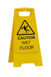 Caution wet floor sign - 74561469