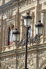 The Town Hall of Seville, Spain