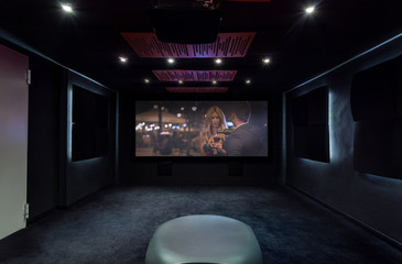 Private cinema at home