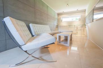 Resting area in modern interior