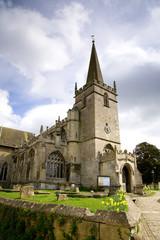 old village church, UK