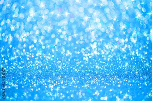 Niebieskie światła w tle