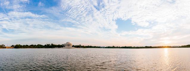 Jefferson Memorial at Tidal Basin,Washington DC, USA.