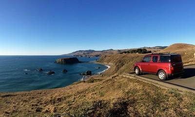 California coastal roadtrip