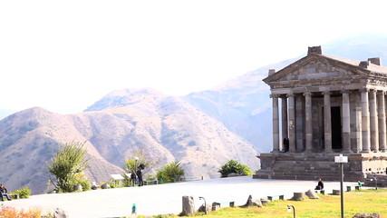 Temple of Garni in Armenia
