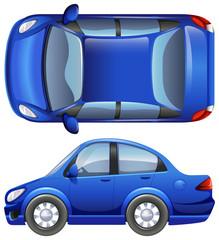 A sedan vehicle