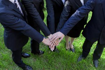協調する新社会人