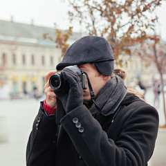 Male Taking Photo