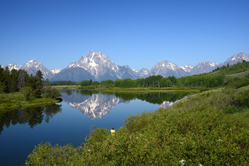 grand teton reflection