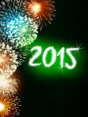firework 2015 happy new year
