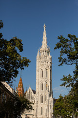 Matthias church tower, Budapest