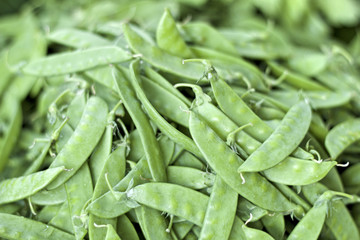 close up fresh string bean