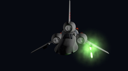 starfighter front firing