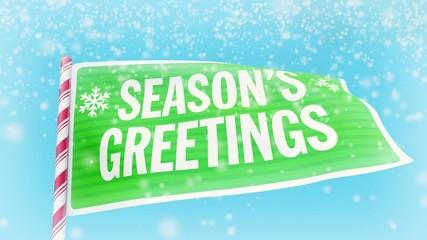 Christmas animation - Season's Greetings