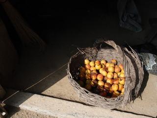 A Basket Of Apricots