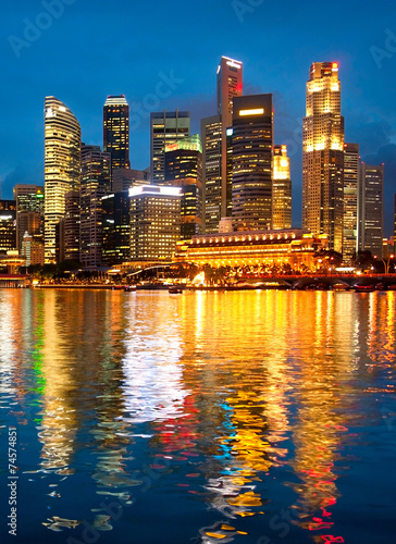 Tuinposter Singapore Singapore business centre